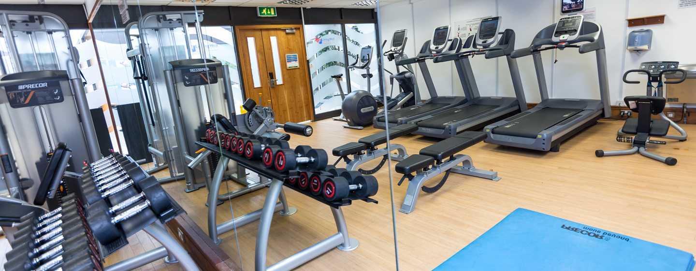 "Hilton London Gatwick Airport, Großbritannien -""Living Well Gym"" Fitnesscenter"