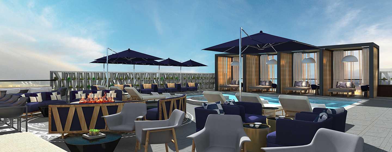 Hotel Hilton Guadalajara Midtown, México - Bar de la piscina