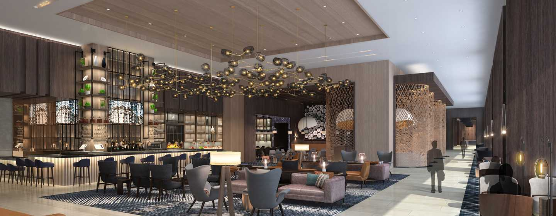Hotel Hilton Guadalajara Midtown, México - Lobby