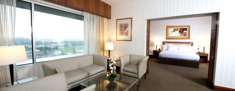 Hilton Colón Guayaquil hotel, Ecuador - Sala de la suite