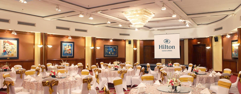 โรงแรม Hilton Hanoi Opera เวียดนาม - บอลรูม