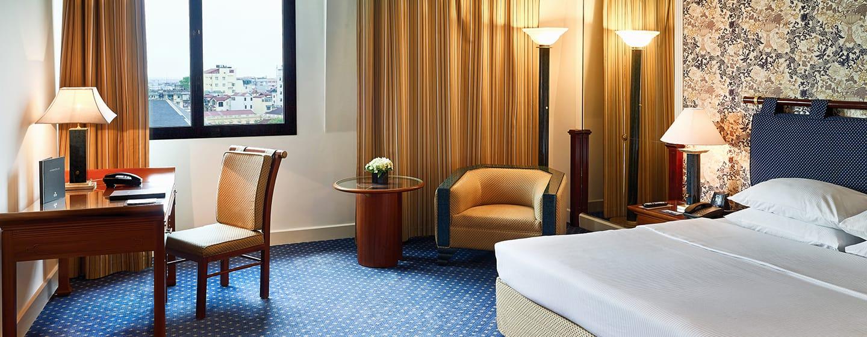 โรงแรม Hilton Hanoi Opera เวียดนาม - ห้องเอ็กเซ็กคิวทีฟ เตียงคิงไซส์