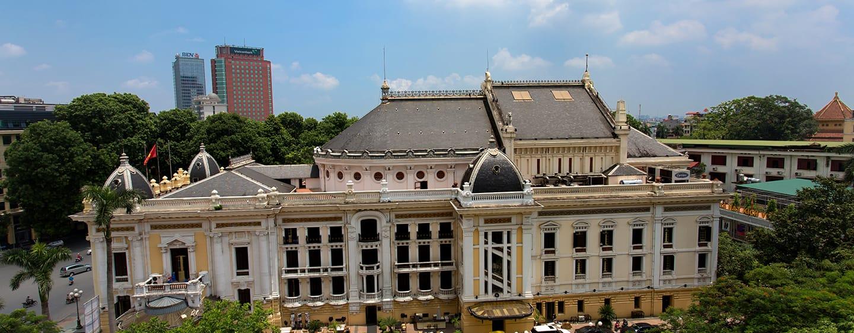 โรงแรม Hilton Hanoi Opera เวียดนาม - วิวโรงละคร
