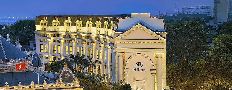 โรงแรม Hilton Hanoi Opera เวียดนาม - ภายนอกโรงแรม Hilton Hanoi Opera