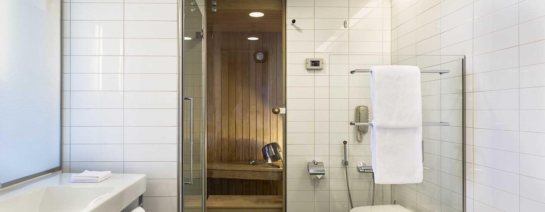 Hilton Helsinki Airport, Finland – många rum med privat bastu