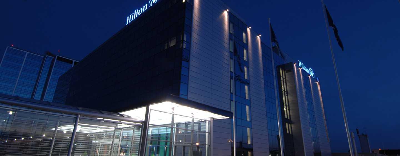 Hilton helsinki airport hotel met volledige service for Eigentijdse buitenkant