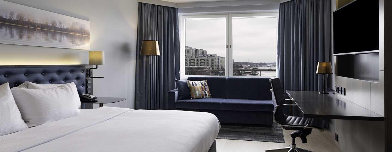 Hilton Helsinki Strand -hotelli, Suomi – parivuoteellinen Plus-hotellihuone