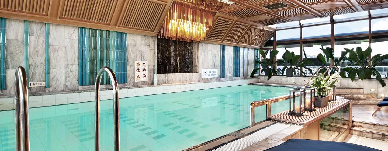 Hilton Helsinki Strand -hotelli, Suomi - ylimmän kerroksen uima-allas ja kuntoilukeskus