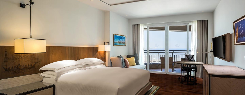 โรงแรม Hilton Hua Hin Resort & Spa ประเทศไทย - ห้องเอ็กเซ็กคิวทีฟวิวทะเล