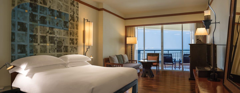 โรงแรม Hilton Hua Hin Resort & Spa ประเทศไทย - ห้องดีลักซ์วิวทะเล
