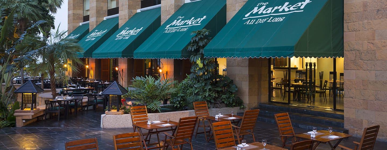 โรงแรม Hilton Hua Hin Resort & Spa ประเทศไทย - The Market - ร้านอาหารที่เปิดให้บริการตลอดวัน