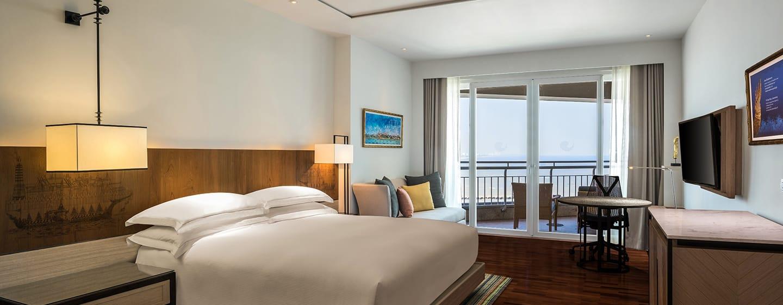 โรงแรม Hilton Hua Hin Resort & Spa ประเทศไทย - ห้องเอ็กเซ็กคิวทีฟวิวทะเลเตียงคิงไซส์