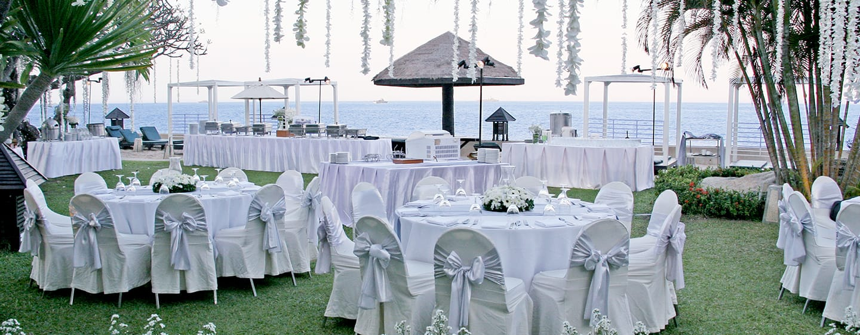 โรงแรม Hilton Hua Hin Resort & Spa ประเทศไทย - การประชุมกลางแจ้ง