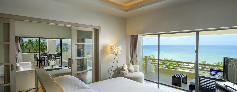 โรงแรมฮิลตัน ภูเก็ต อาร์เคเดีย รีสอร์ท แอนด์ สปา ประเทศไทย - พื้นที่ด้านนอก - ฮิลตันซูพีเรียดีลักซ์สวีท