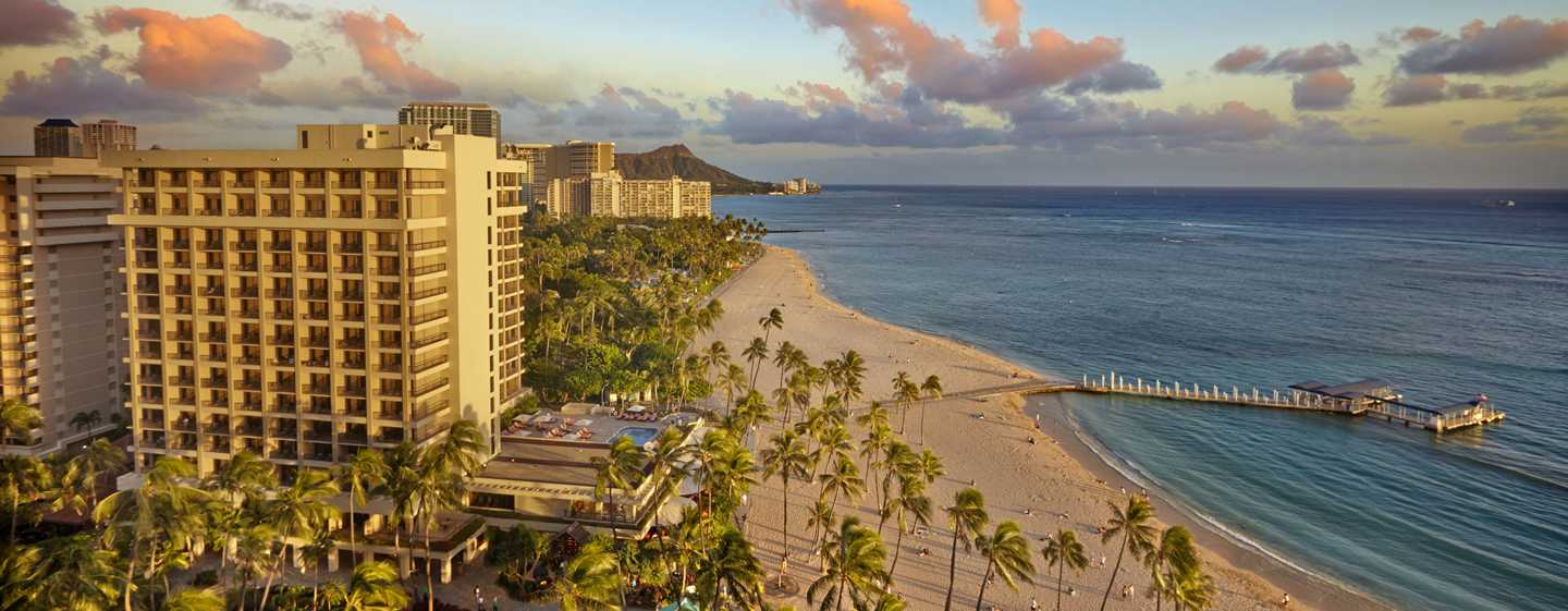Hilton Hawaiian Village Waikiki Beach Resort Hotel, Honolulu, Hawaii, USA – Ali'i Tower