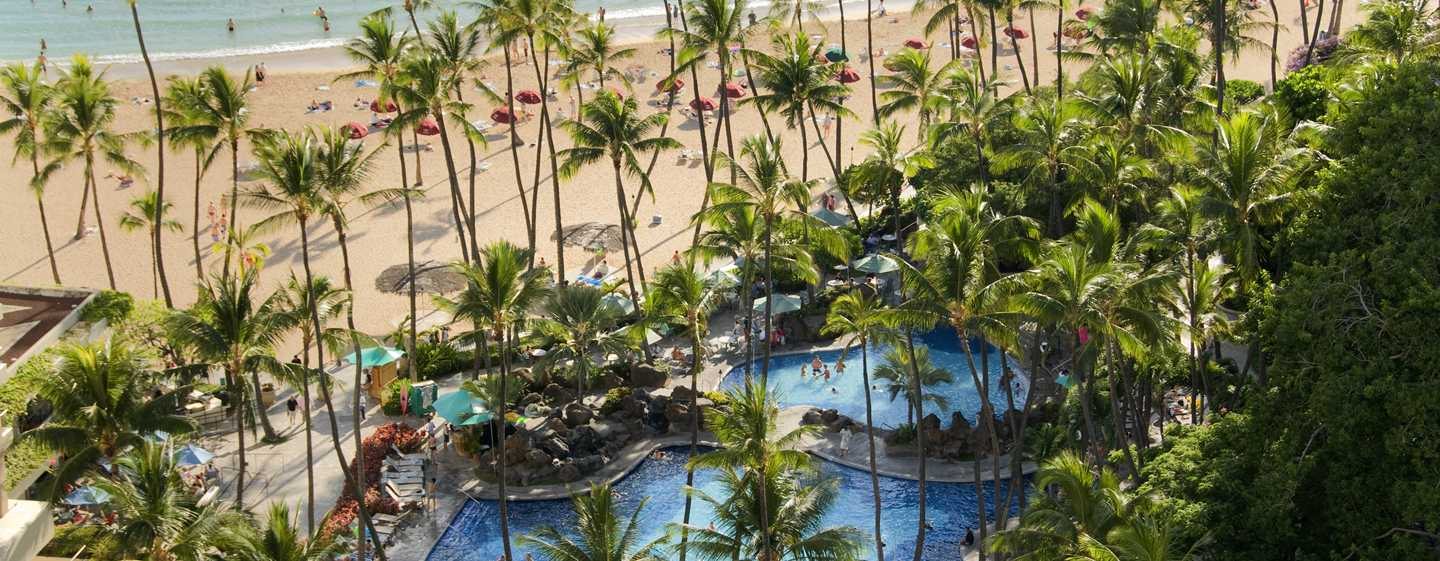 Hotel Hilton Hawaiian Village Waikiki Beach Resort, EE. UU. - Piscina Super
