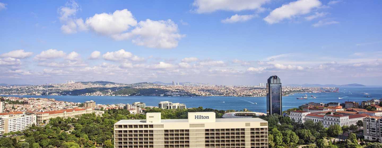 Hôtels de luxe à Istanbul, Turquie - Hôtel Hilton Istanbul Bosphorus ...