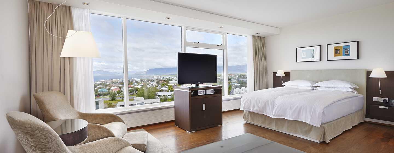 Hilton Reykjavik Nordica -hotelli, Islanti – Queen Executive Plus -huone