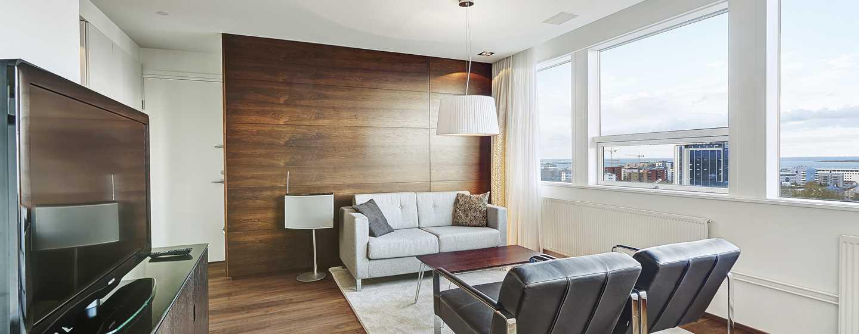 Hilton Reykjavik Nordica -hotelli, Islanti – King-sviitti