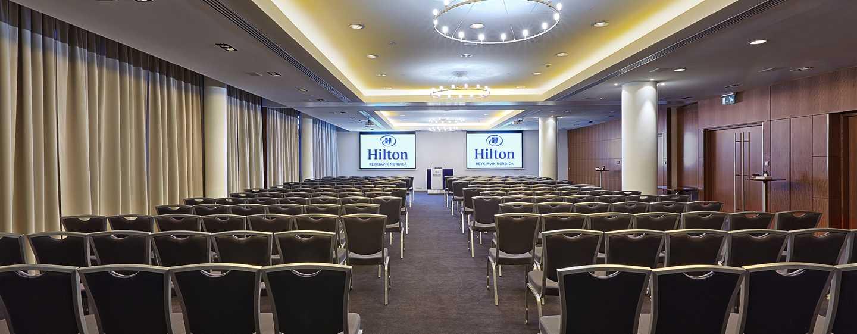 Hilton Reykjavik Nordica -hotelli, Islanti – kokoushuone, teatterityylinen asettelu