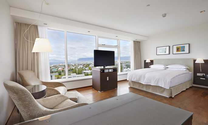 Hilton Reykjavik Nordica hotell, Island – Queen Executive-rom