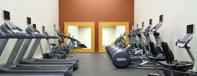 U kunt tijdens uw vakantie aan uw conditie werken in de sportzaal onder professionele begeleiding van sport- en fitnesscoaches.