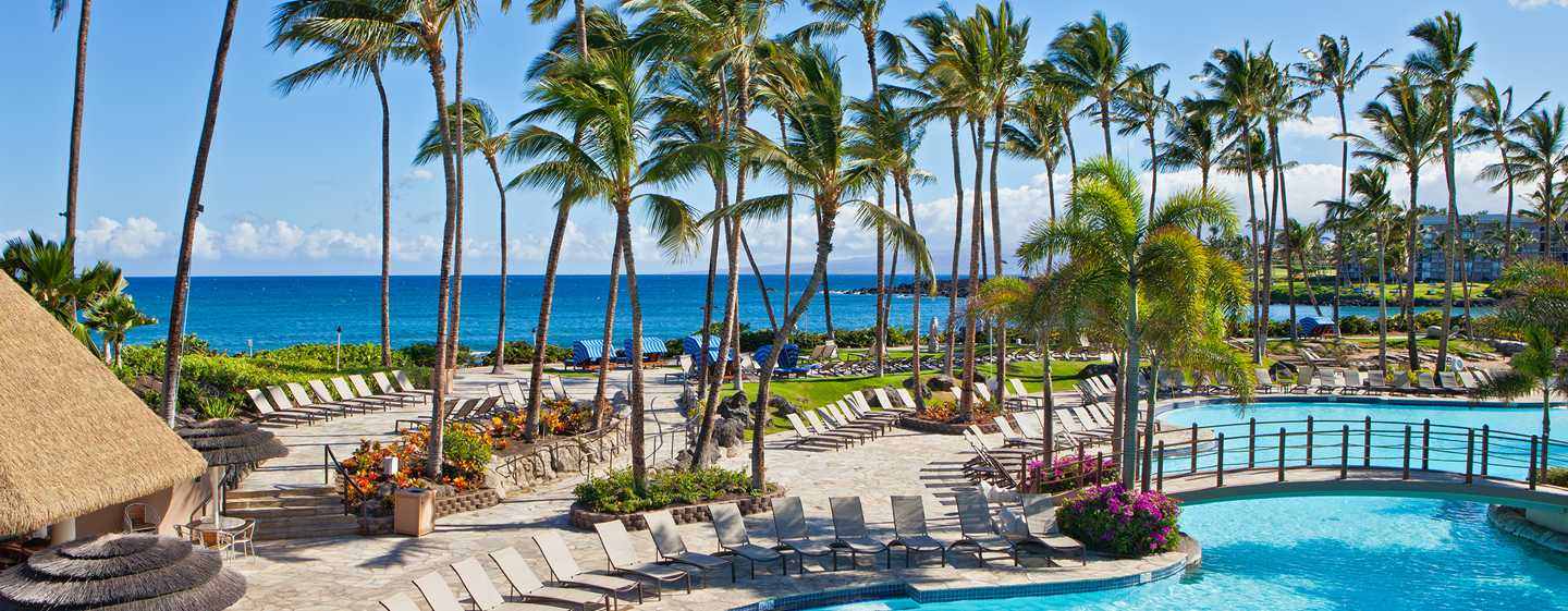 Hilton Waikoloa Village Hotel, Hawaii – Kona-poolen