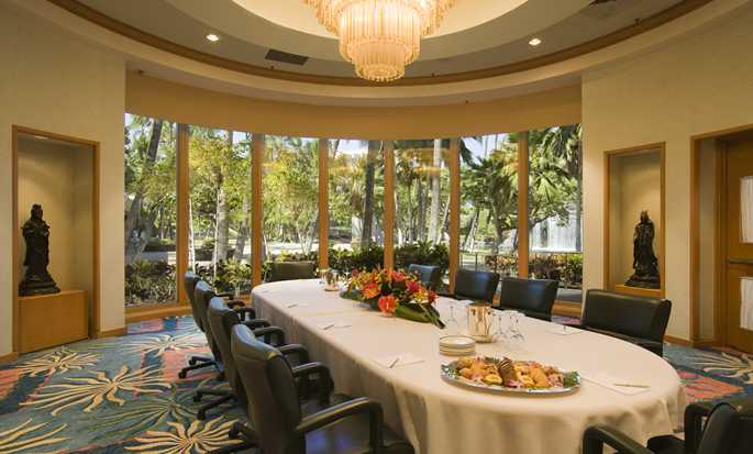 Hilton Waikoloa Village Hotel, Hawaii, USA – Boardroom