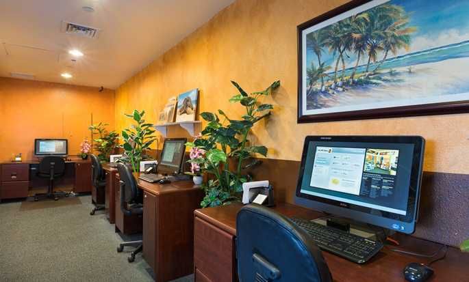 Hilton Waikoloa Village Hotel, Hawaii – Business Center