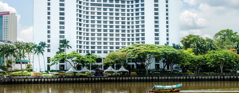 โรงแรม Hilton กูชิง มาเลเซีย - พื้นที่ภายนอกโรงแรม