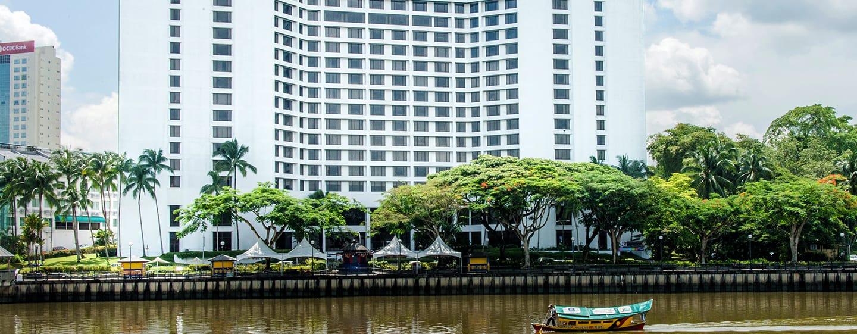 Hotel Hilton Kuching, Malaysia - Eksterior Hotel