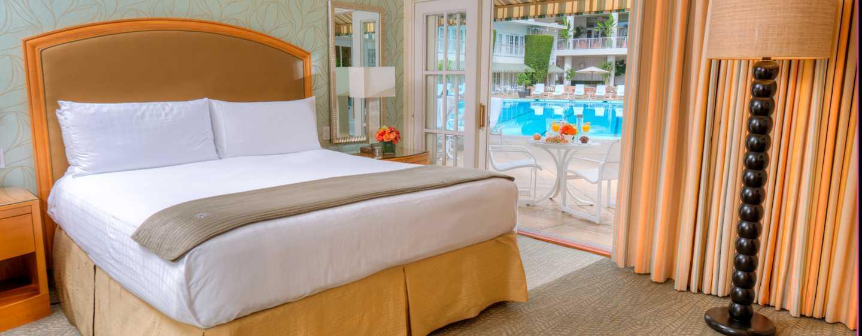 The Beverly Hilton Hotel, USA – tropische Cabana Zimmer