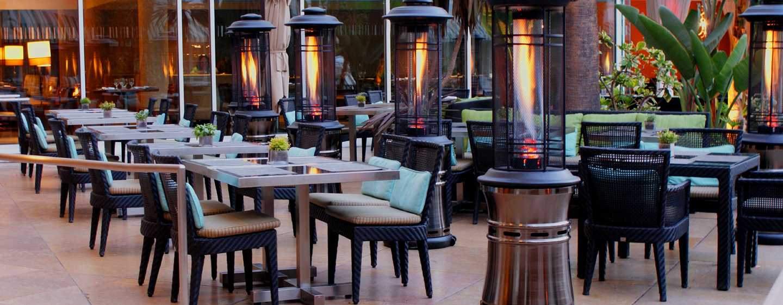 The Beverly Hilton Hotel, USA – Terrasse des Circa