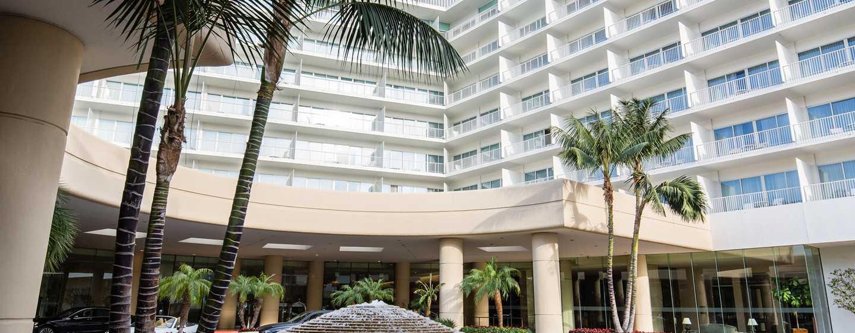 The Beverly Hilton, USA – Außenbereich des Hotels