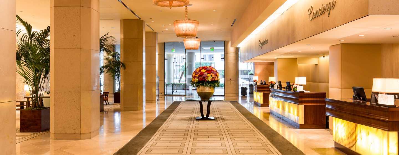 The Beverly Hilton, USA – Hotel-Lobby
