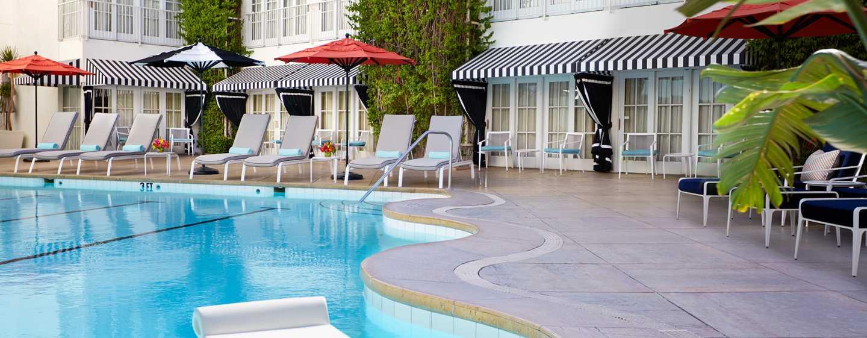 The Beverly Hilton, USA – Außenpool