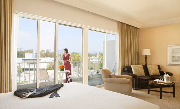 The Beverly Hilton, EUA – Quarto