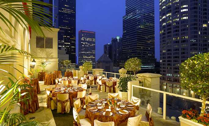 Hilton Checkers Los Angeles hotel - Outdoor Event Space