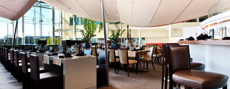 Hilton London Heathrow Airport, Großbritannien - Brasserie Restaurant