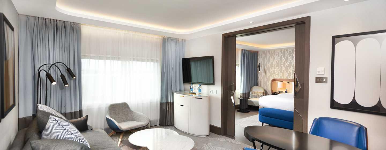 Hilton London Heathrow Airport, Großbritannien - Executive Zimmer mit King-Size-Bett