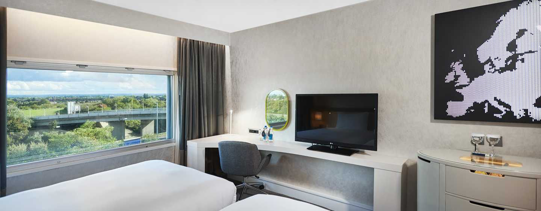 Hilton London Heathrow Airport, Großbritannien - Deluxe Zweibettzimmer