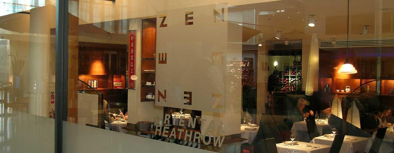 """Hilton London Heathrow Airport, Großbritannien - Restaurant """"Zen"""