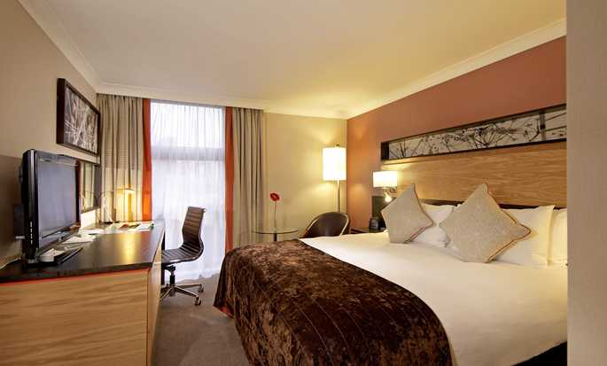 Hotel Hilton London Kensington, Reino Unido – Quarto Double Deluxe