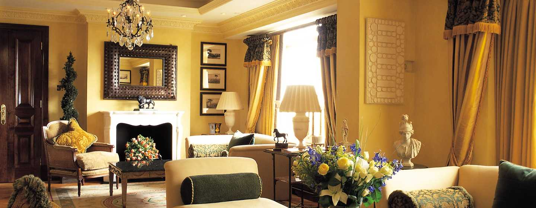 London Hilton on Park Lane Hotel, Großbritannien – Clarence Suite
