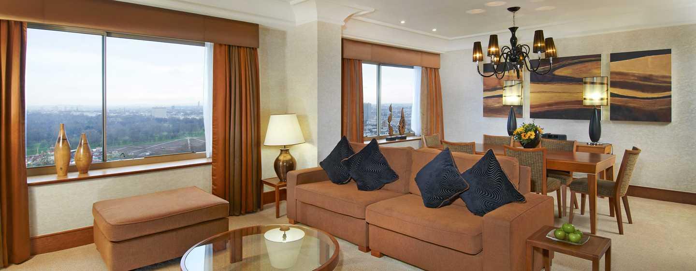 London Hilton on Park Lane Hotel, Großbritannien – Cosmopolitan Suite