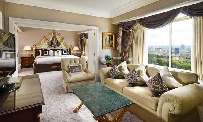 London Hilton on Park Lane, Regno Unito - Camera da letto principale della Suite Presidential