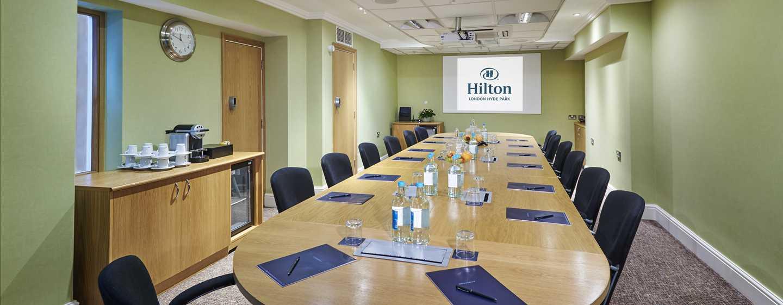 Hilton London Hyde Park, Großbritannien - Tagungsraum Coburg Suite