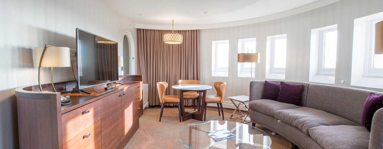 Hilton London Hyde Park, Großbritannien - Lounge der Dome Suite