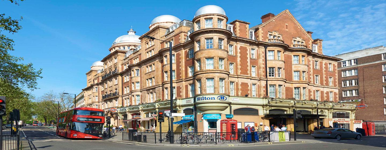 Hilton London Hyde Park, Großbritannien - Außenansicht des Hotels