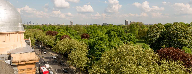 Hilton London Hyde Park, Großbritannien - Aussicht der Dome Suite